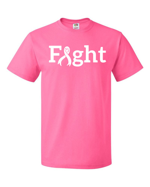 FIGHT Neon Pink T-Shirt