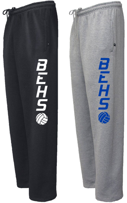 BEHS Volleyball Sweatpant with Leg Logo