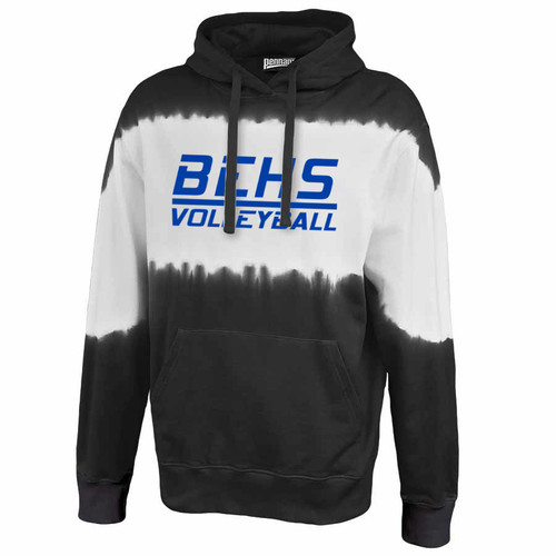 BEHS Black Tie-dye hoodie