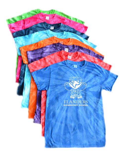 Flanders Elementary Tie Dye T-Shirt
