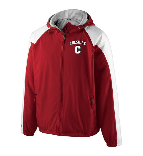 Cheshire Scarlet/White Homefield Jacket