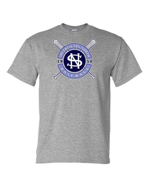 North Baseball 50/50 T-Shirt