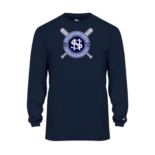 North Baseball Wicking Long Sleeve