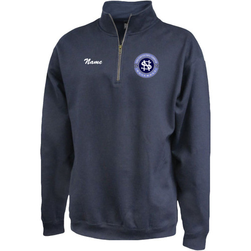 North Baseball 1/4 Zip Fleece