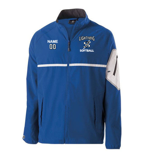 Lightning Unisex Warm Up Jacket