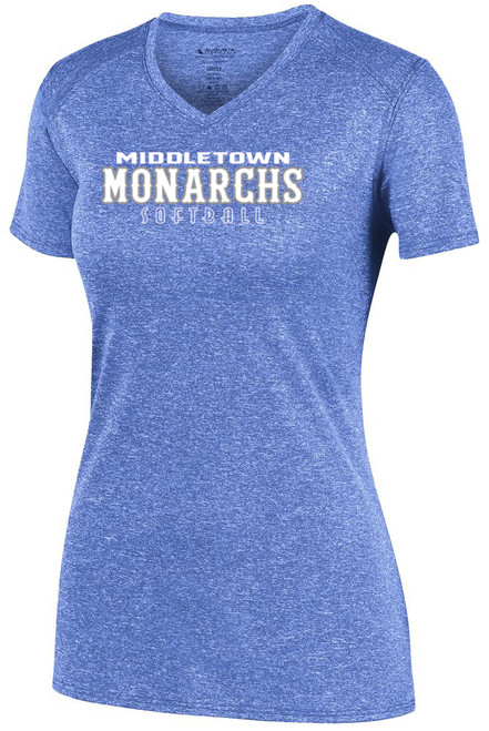 Middletown Monarchs Softball Ladies Short Sleeve