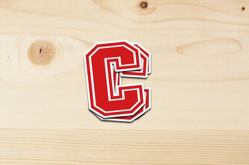 """Cheshire """"C"""" Sticker"""