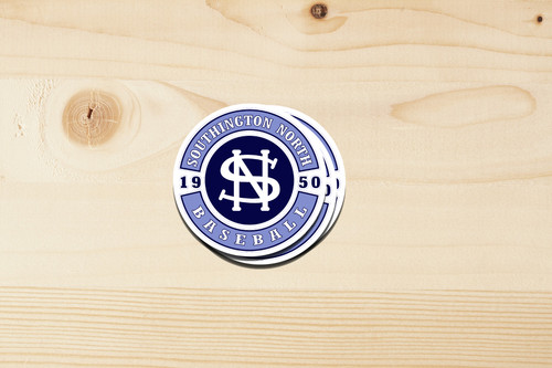 North Baseball Sticker