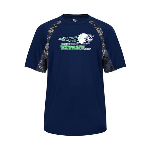 Titans Navy Digi Camo T-Shirt