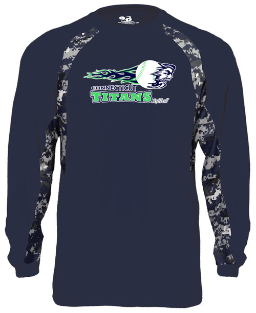 Titans Digi Camo Long Sleeve