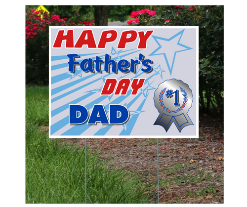 Father's Day Lawn Sign