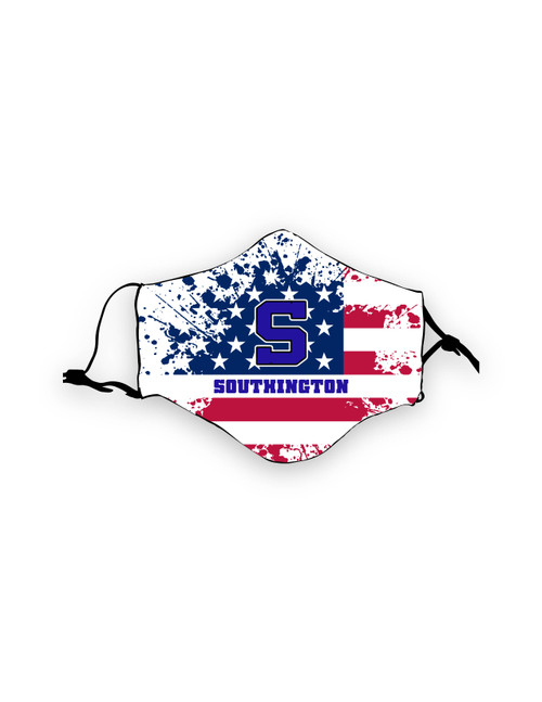 Southington American Flag Mask