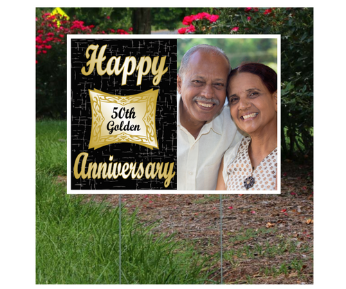 Anniversary Lawn Sign