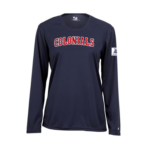 Wolcott Colonials Ladies Long Sleeve