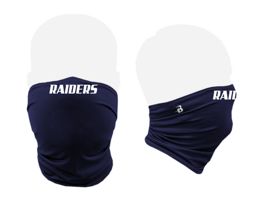"Meriden Raiders ""Raider"" Performance Activity Face Mask"