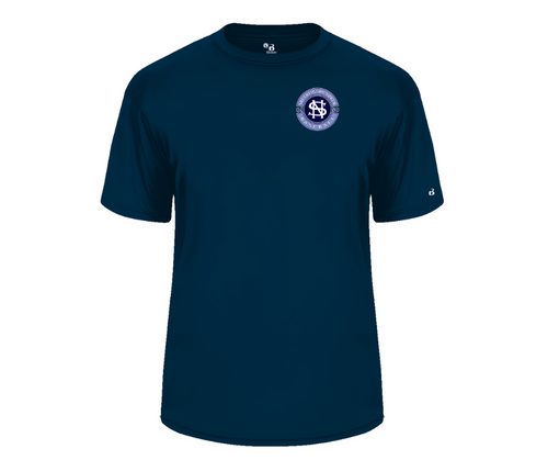 North Baseball Wicking T-Shirt  with Left Chest Logo
