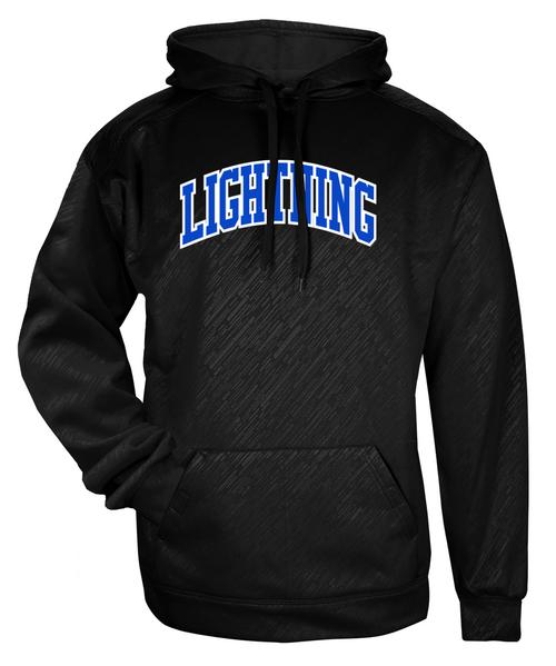 Lightning Embossed Hoodie
