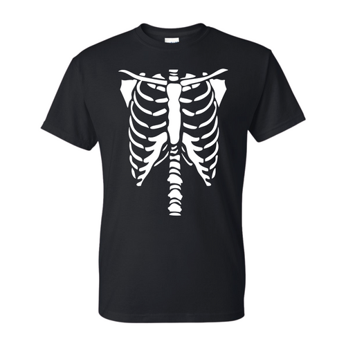 Black Skeleton T-Shirt