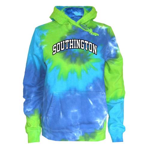 Southington Blue Green Tie Dye Sweatshirt