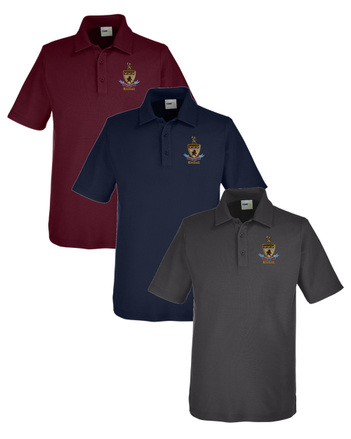 Kimball Unisex Short Sleeve Polo