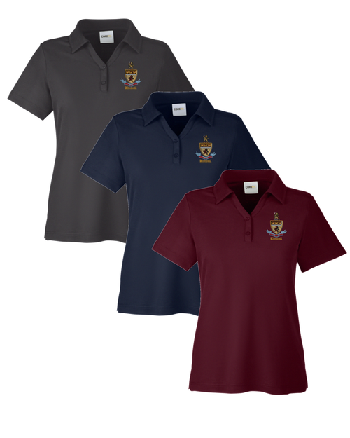 Kimball Ladies Short Sleeve Polo