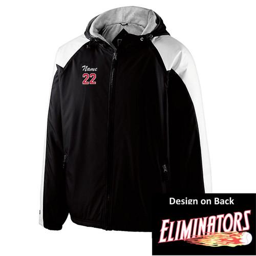 Eliminators Hooded All Season Jacket - White Sleeve