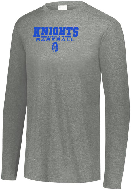 Knights BB Practice Tri-Blend Long Sleeve