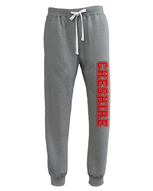 Cheshire Light Gray Jogger with Leg Logo
