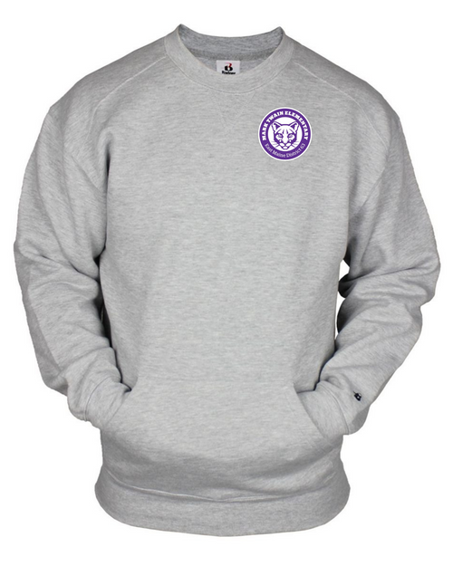 Mark Twain Elementary Gray Crewneck