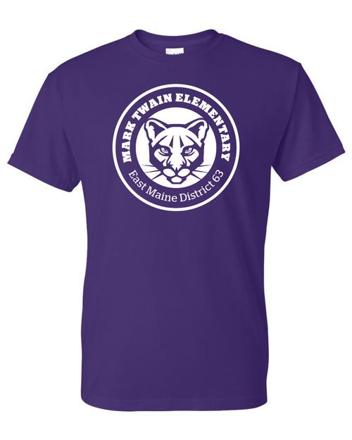 Mark Twain Elementary Purple T-Shirt