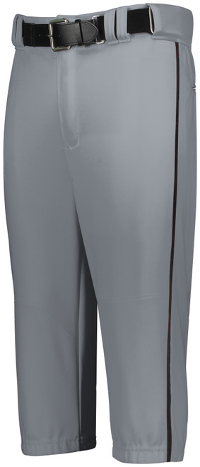 Black Knights Gray Knicker Pant