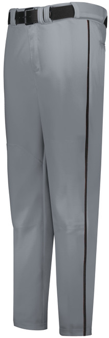 Black Knights Gray Long Baseball Pant