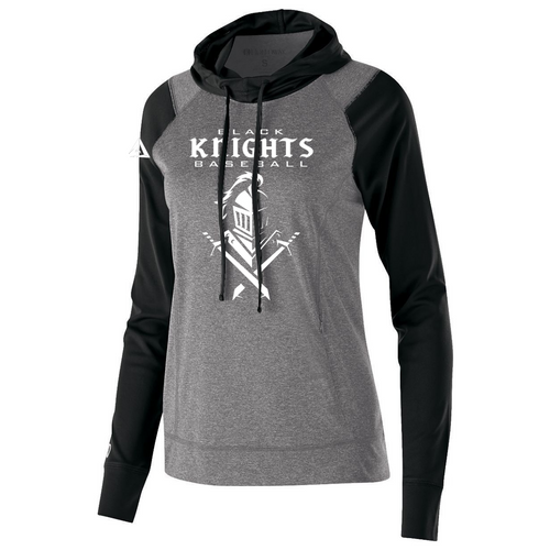 Black Knights Ladies Lightweight Hoodie