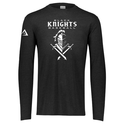 Black Knights Tri-Blend Long Sleeve