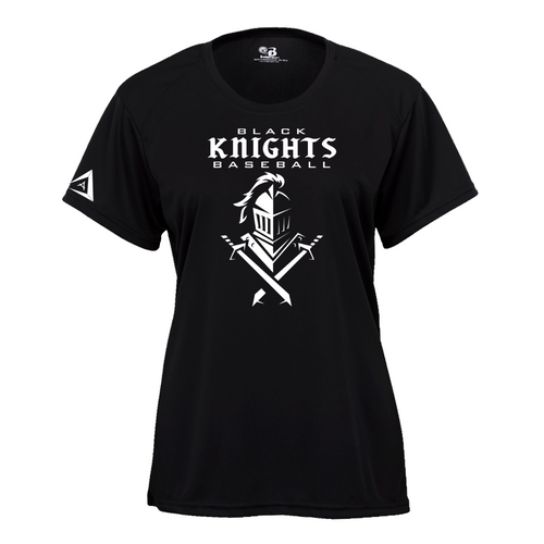 Black Knights Ladies Short Sleeve