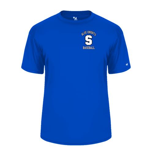 SHS Baseball Fan Short Sleeve Moisture Management T-Shirt