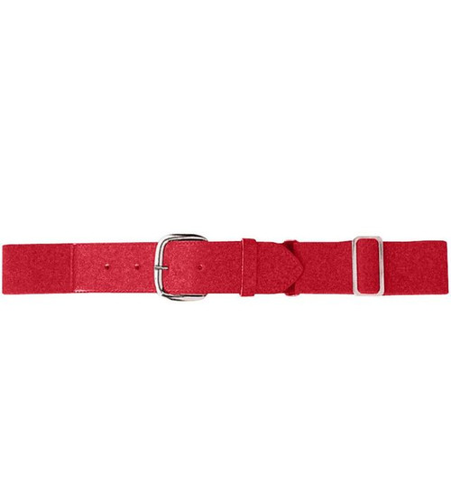 Cheshire Baseball Red Baseball Belt