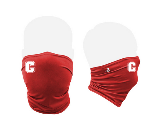 "Cheshire Baseball ""C"" Red Performance Gaiter"