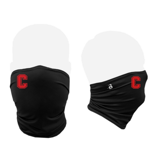 "Cheshire Baseball ""C"" Black Performance Gaiter"