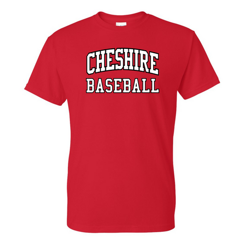 Cheshire Youth Baseball Red T-Shirt