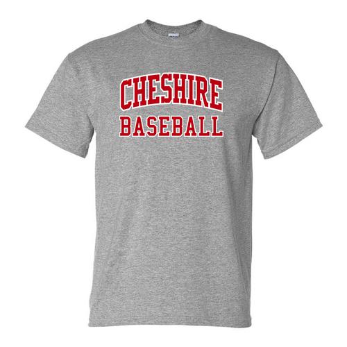 Cheshire Youth Baseball Gray T-Shirt