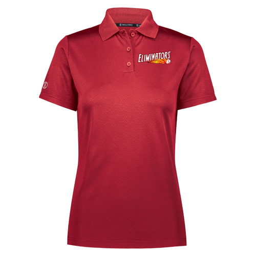 Eliminators Coach Ladies Red Polo (Value: $42.00)