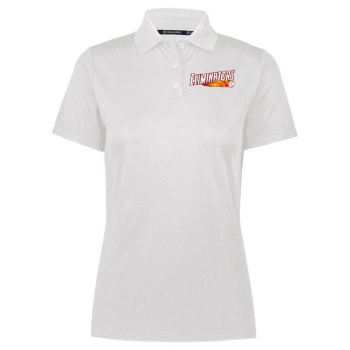 Eliminators Coach Ladies White Polo (Value: $42.00)