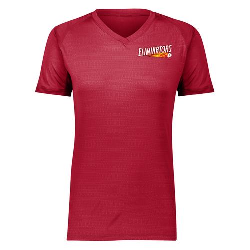 Eliminators Coach Ladies Red Moisture Management Shirt (Value: $32.00)