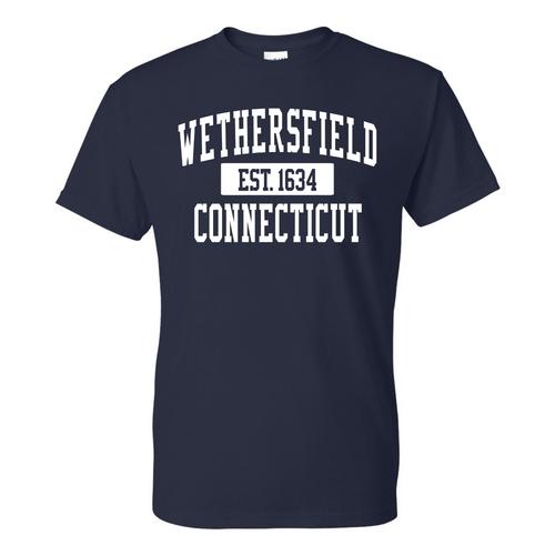 Wethersfield Navy T-Shirt