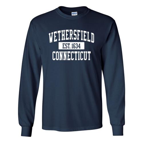 Wethersfield Navy Long Sleeve