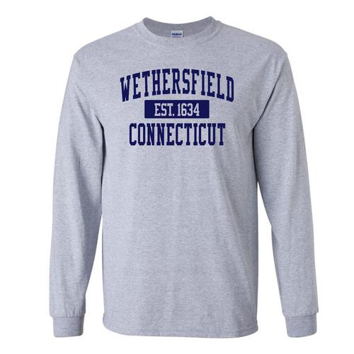 Wethersfield Sport Gray Long Sleeve