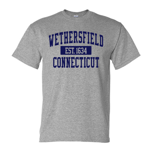 Wethersfield Sport Gray T-Shirt