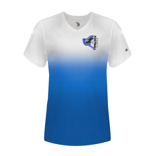 Knights Memorial Park Football Ladies Ombre T-Shirt