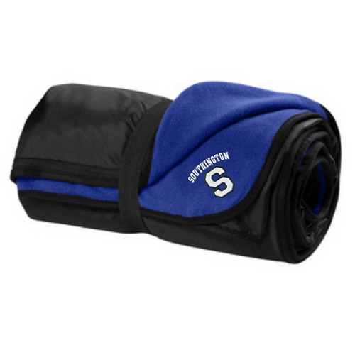 Southington Fleece and Poly Travel Blanket